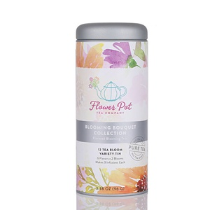 Blooming Bouquet Collection: Flavored Blooming Teas