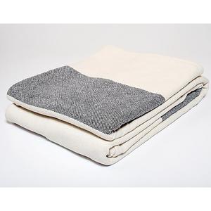 Bold Stripe Blanket Indigo