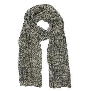 Toffee Knit Cashmere Scarf