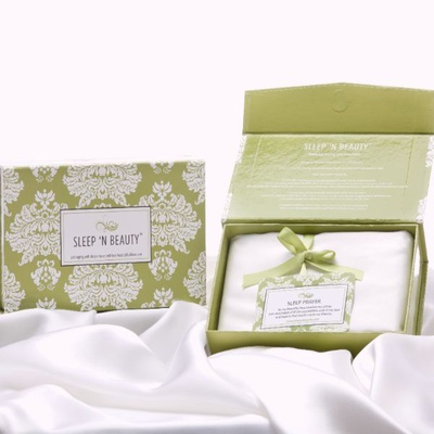 100% Mulberry Silk Pillowcase-Two Pack