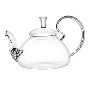 Elegant Glass Teapot