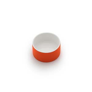 Small Pet Water Bowl | Tangerine Orange