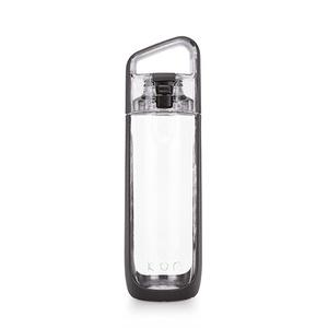 KOR Delta Water Bottle, 750mL (Warm Charcoal)