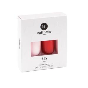 BB Nail Polish + Red Nail Polish Set