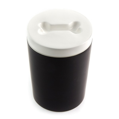 Treat Jar for Pets - Black