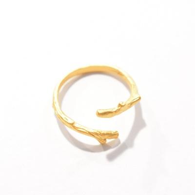 TWIG RING - 22KT GOLD FILLED