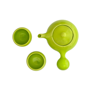Bulb Teaset - Lime green
