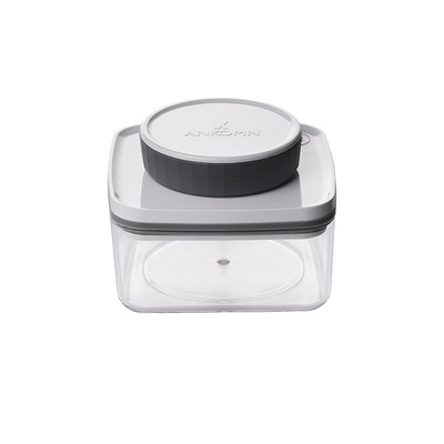 Ankomn Turn-N-Seal vacuum storage container 0.3L Clear
