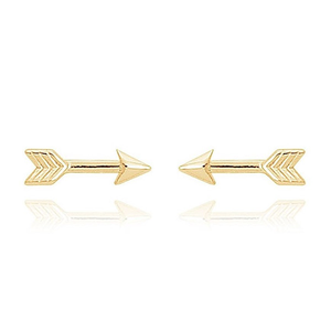 BE BRAVE ARROW EARRINGS