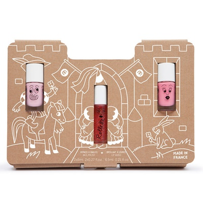 Princess Story – Nail Polish and Lip Gloss Gift Set