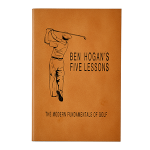 The Modern Fundamentals of Golf | Genuine Leather Bound Book