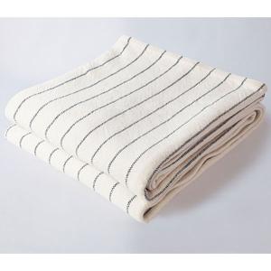 Pinstripe Blanket Indigo