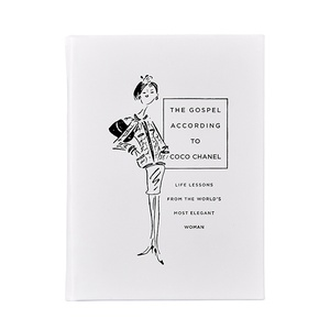 The Gospel According to Coco Chanel | Grain Calfskin Leather Binding