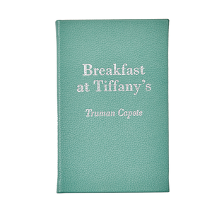 Breakfast at Tiffany's | Full Grain Leather Bound Book