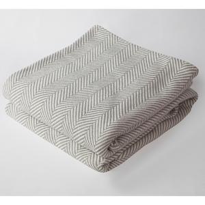 Herringbone Blanket Grey