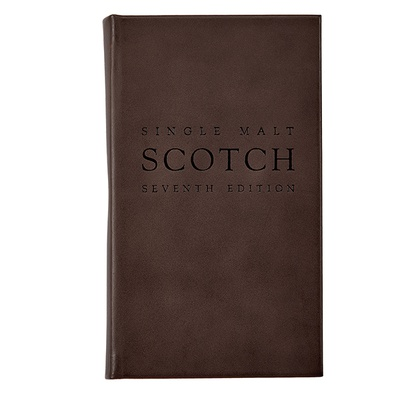 The Scotch Book | Traditional Brown Leather Bound Book