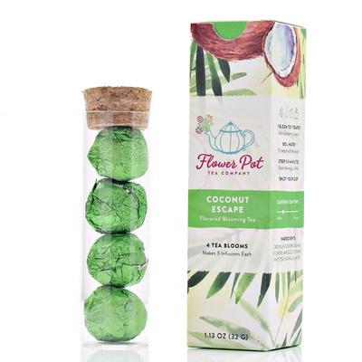 Coconut Escape Blooming Tea