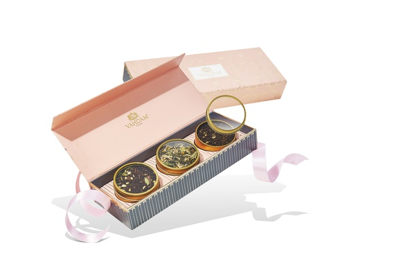 BLUSH - 3 Loose Leaf Teas (3 Tin Caddy)