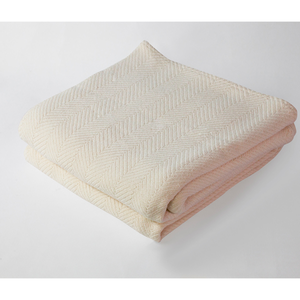 Herringbone Blanket Natural