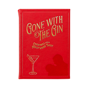 Gone With The Gin | Full Grain Leather Bound Book