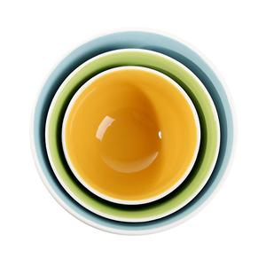 Nesting Textured Bowls - set of 3