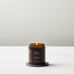 burn. massage candle no. 1