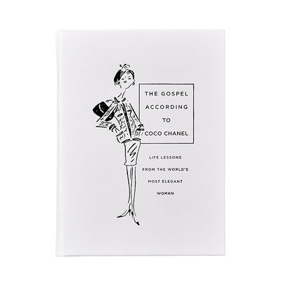 The Gospel According to Coco Chanel | Grain Calfskin Leather Binding