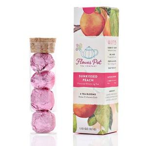 Sunkissed Peach Blooming Tea