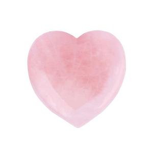 ROSE QUARTZ HEART CRYSTAL