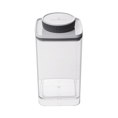 Ankomn Turn-N-Seal vacuum storage container 1.2L Clear
