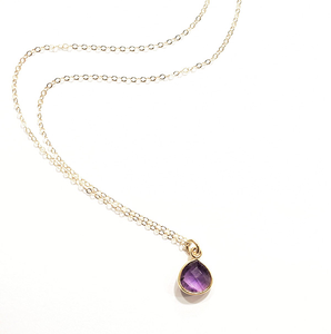 TRANQUILITY NECKLACE - 14KT GOLD FILLED