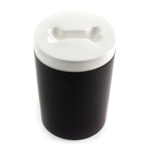 Treat Jar for Pets - Black