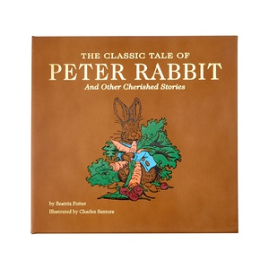 The Classic Tale of Peter Rabbit | Genuine Leather Bound Book