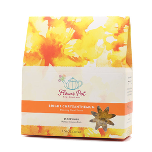 Bright Chrysanthemum Floral Tisane (Medium)