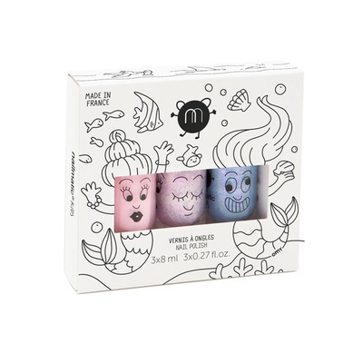 Mermaid - Set of 3 nail polishes