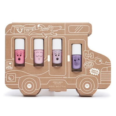 Holidays Van Story – 4 water-based nail polishes set