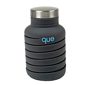 Metallic Charcoal que Bottle